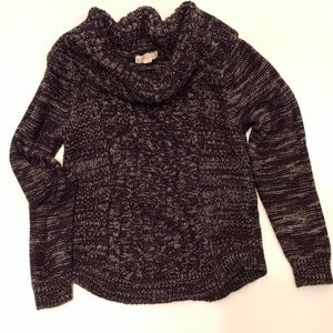 It's Our Time |  Junior Girls Cow Neck Sweater